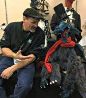 Bill_Diamond_with_Gorgo_the_Gargoyle