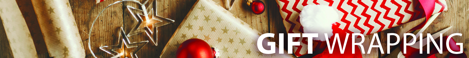 Gift Wrapping Header